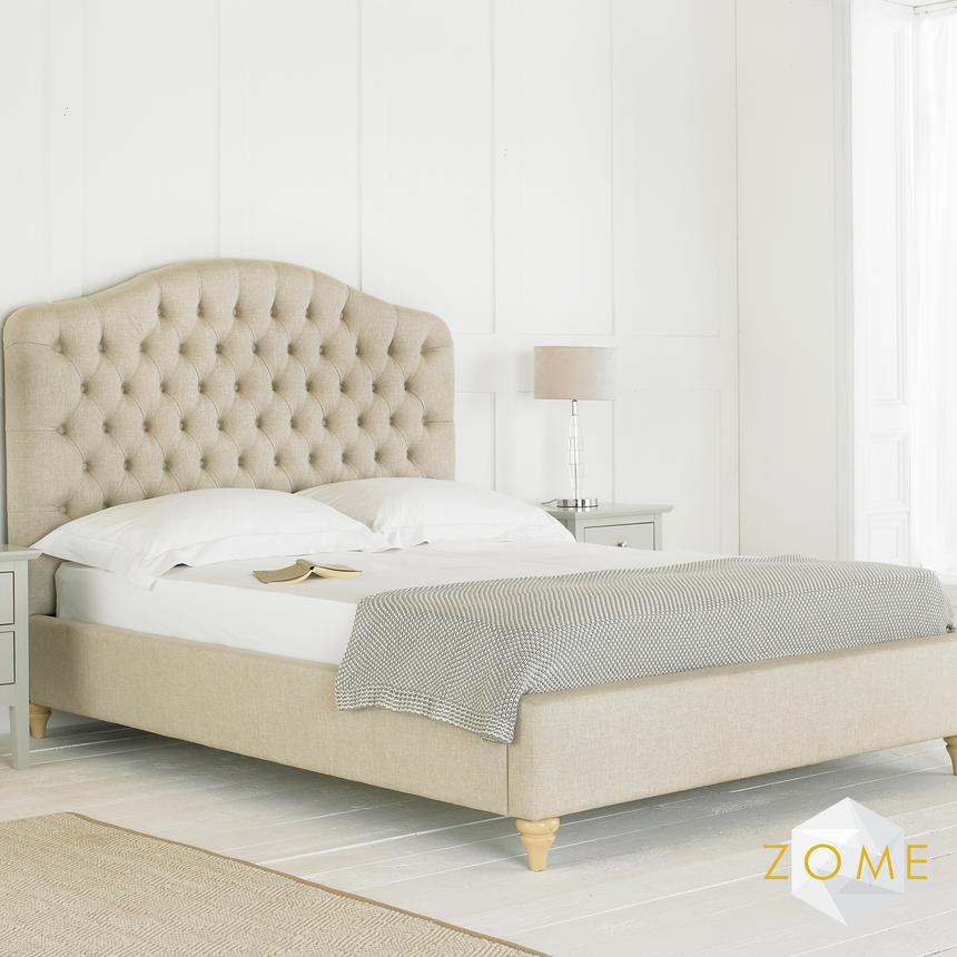 Cielo Chesterfield Bedframe - Zome Home ltd