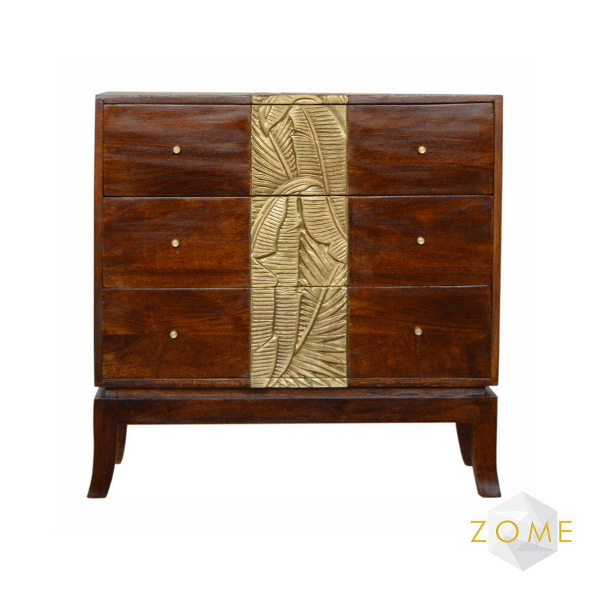 Orno 3 Drawer Chest - Zome Home ltd