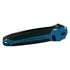 Folding Spring Assisted Blue And Black Knife.