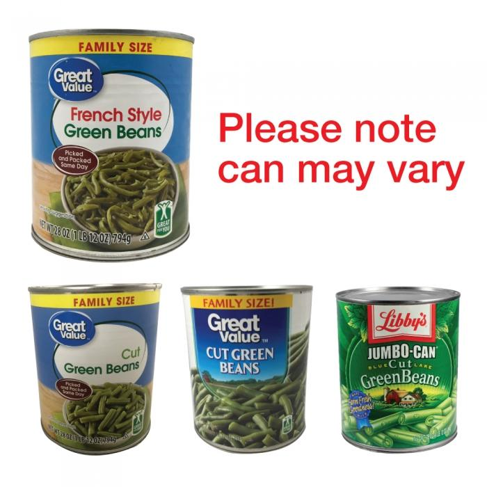 Green Bean Stash Can Diversion Safe