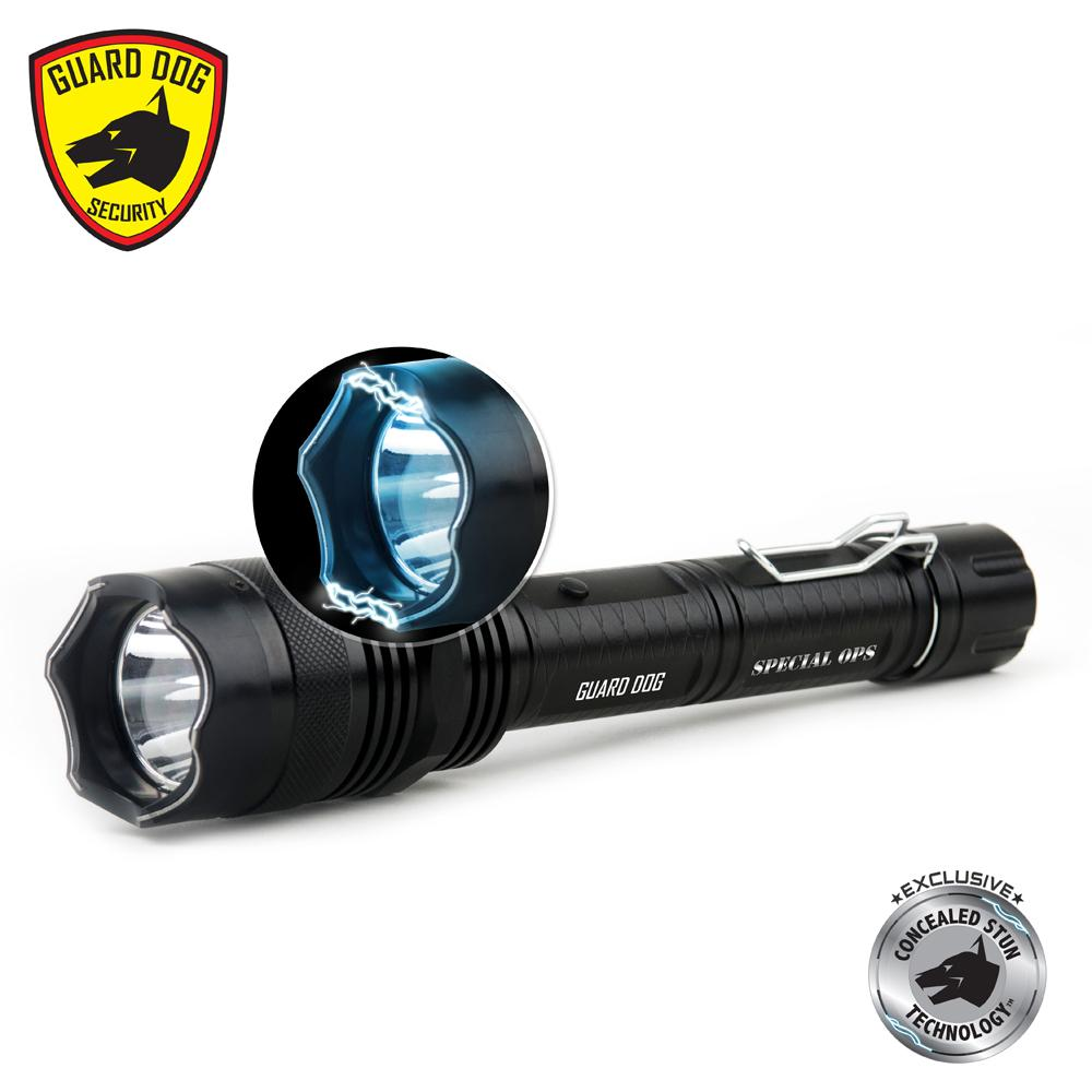 Guard Dog Special Ops Stun Gun Flashlight