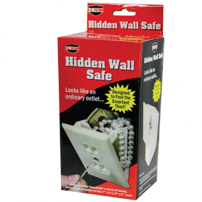 Hidden Wall Outlet Diversion Safe