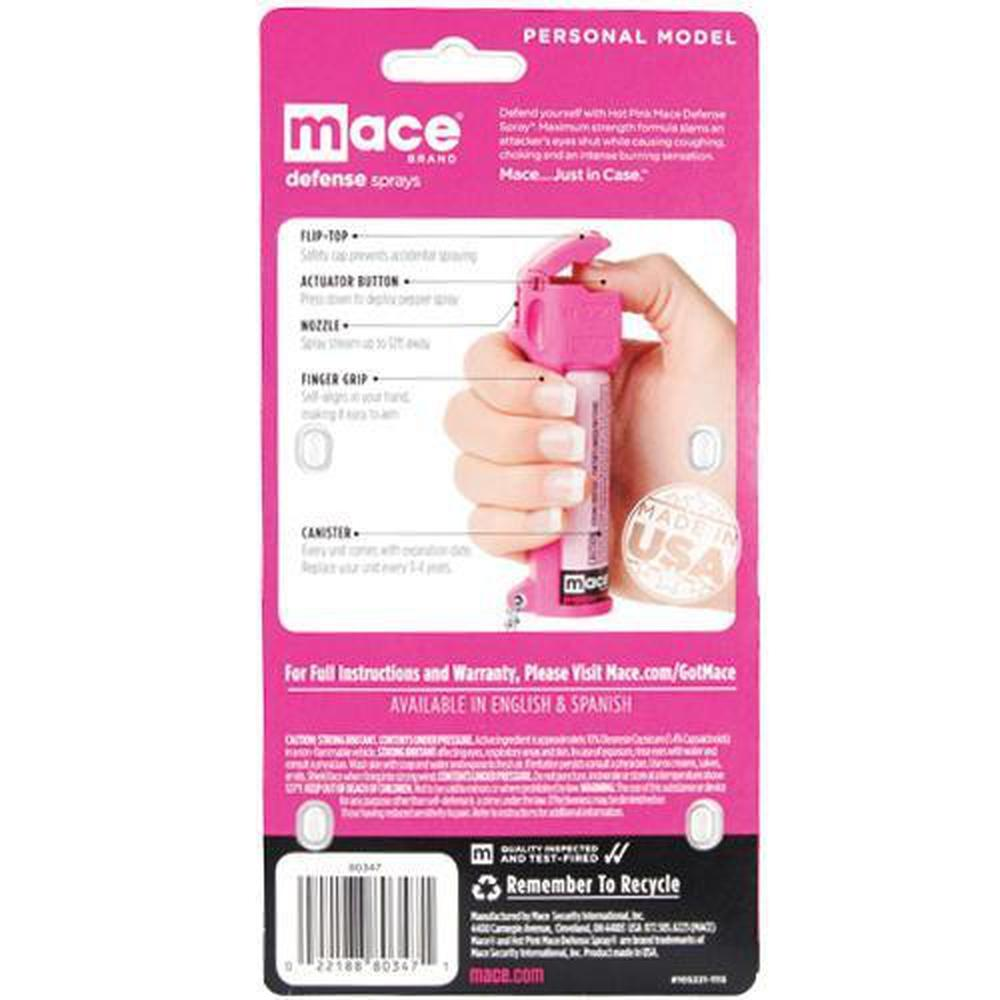 Mace® Personal Model Hot Pink 10% OC Pepper Spray