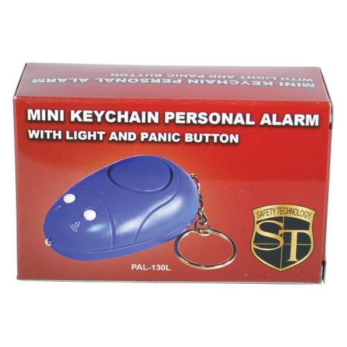 Mini Keychain Alarm with Light