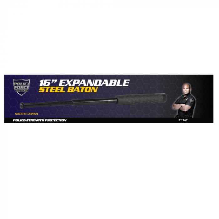Police Force Expandable Steel Baton