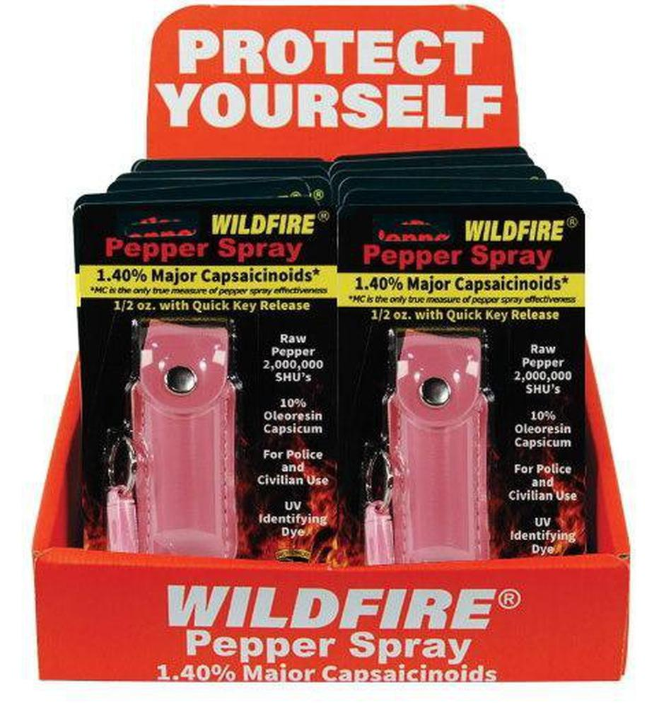 Wildfire Wholesale Pepper Spray Soft Case - Case of 12 (1.4% MC)