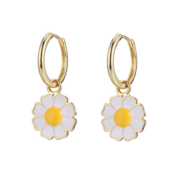 Botanical daisy jewelry