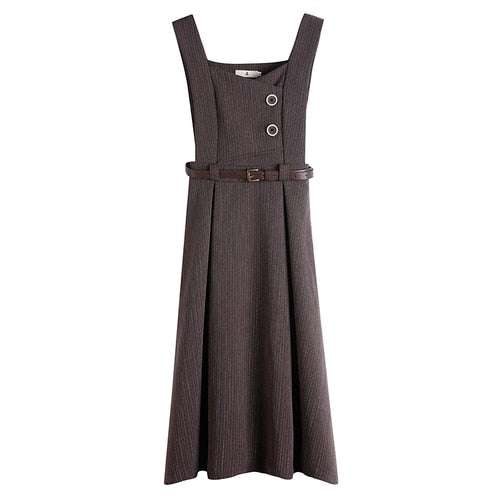 Zara pinafore dress