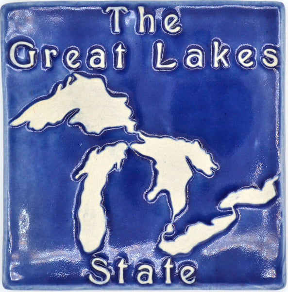 6x6 The Great Lakes State