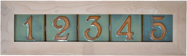 House Number Frame