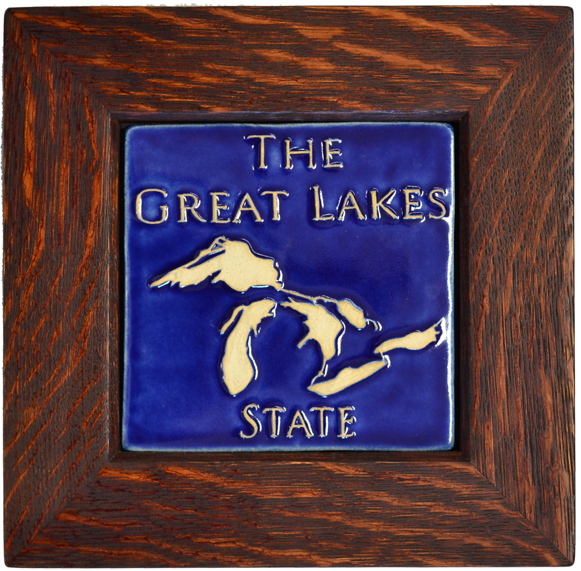 Framed Great Lakes State