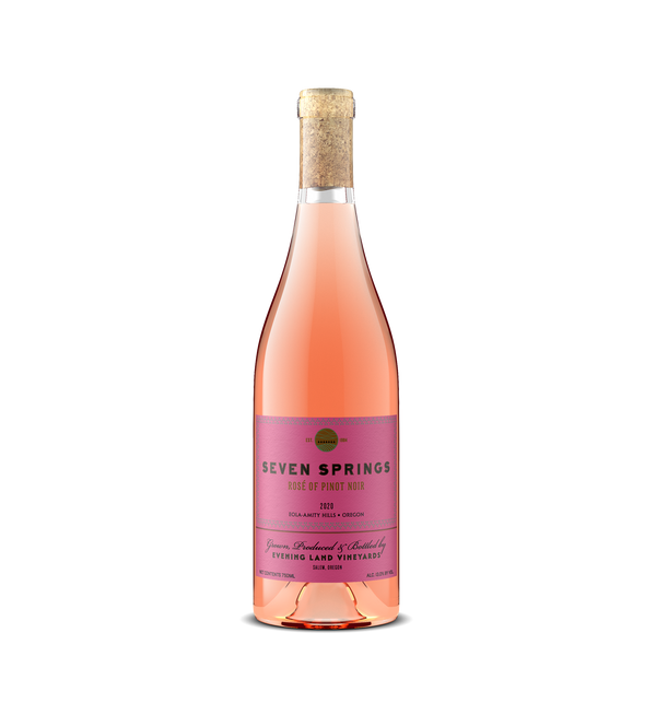 2020 Seven Springs Rosé of Pinot Noir