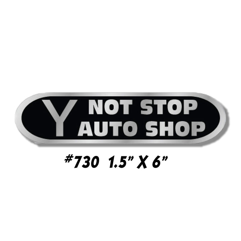 Dealer Decklid Decal Shape