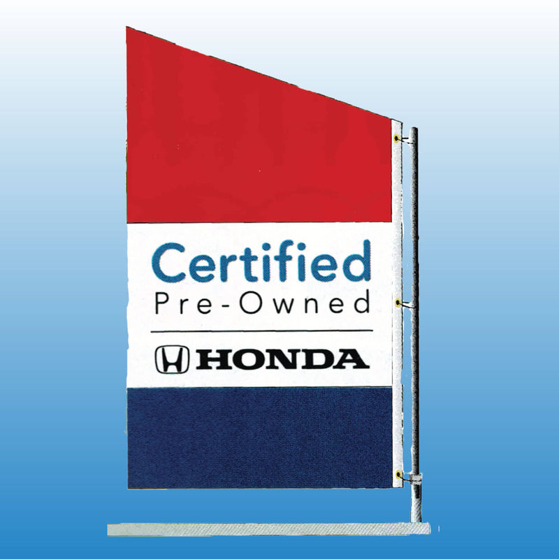 Spacewalker Flag CERTIFIED HONDA