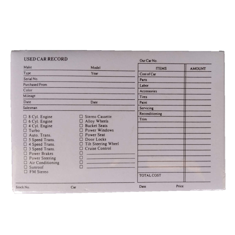 INVENTORY CARDS RETAIL 2 sty