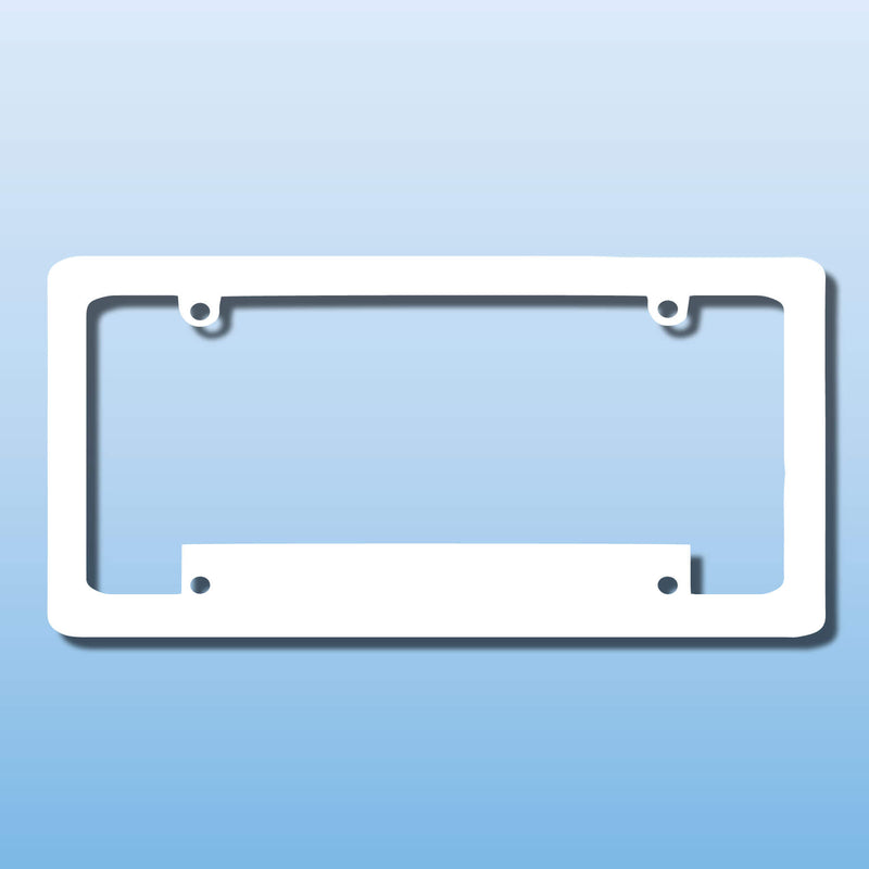 Raised Letter License Plate Frames Michigan