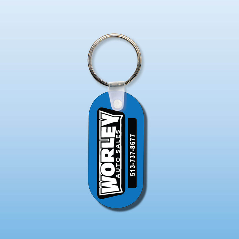 Soft Vinyl Custom Key Tags 5155