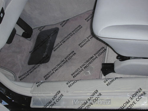 Plastic Adhesive Backed Floor Mats