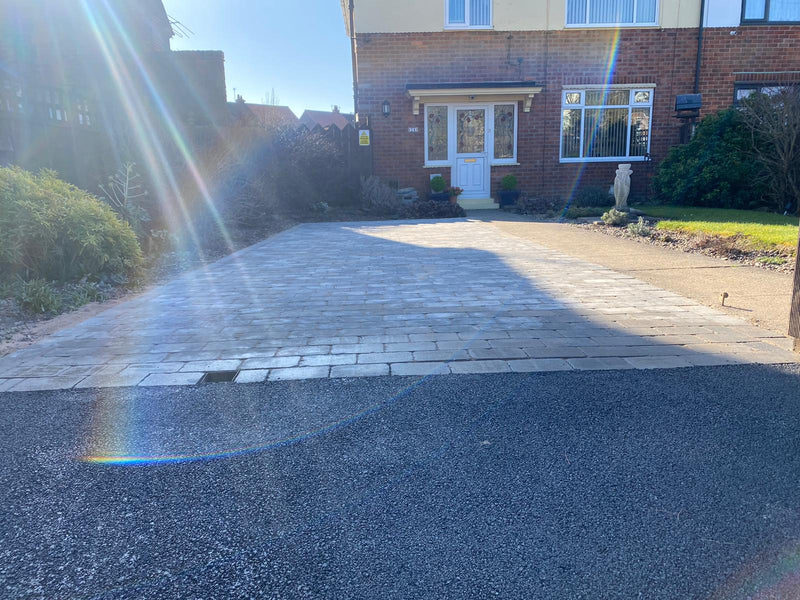 Driveway and dropped kerb in Hedon