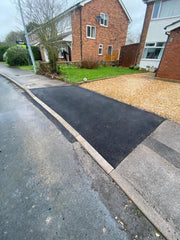 dropped kerb project in Swanland East Riding