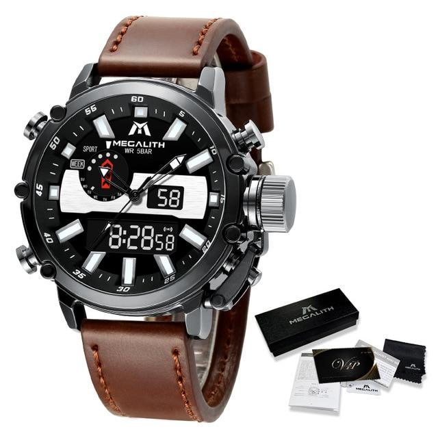 Amideo Raffinato Watch Company leather black