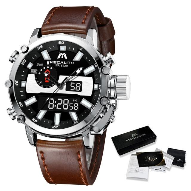 Amideo Raffinato Watch Company leather silver
