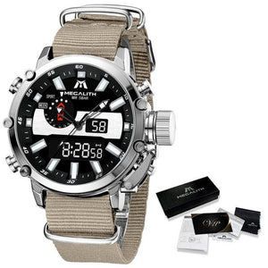 Amideo Raffinato Watch Company nylon khaki