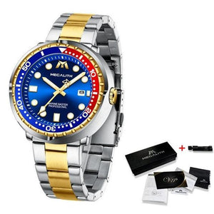 Cambio Raffinato Watch Company Gold Blue