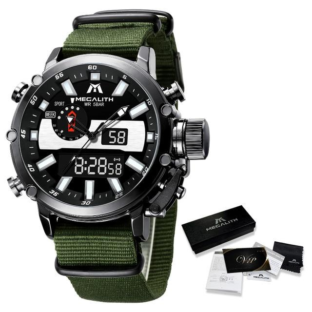 Ormanno Raffinato Watch Company nylon black