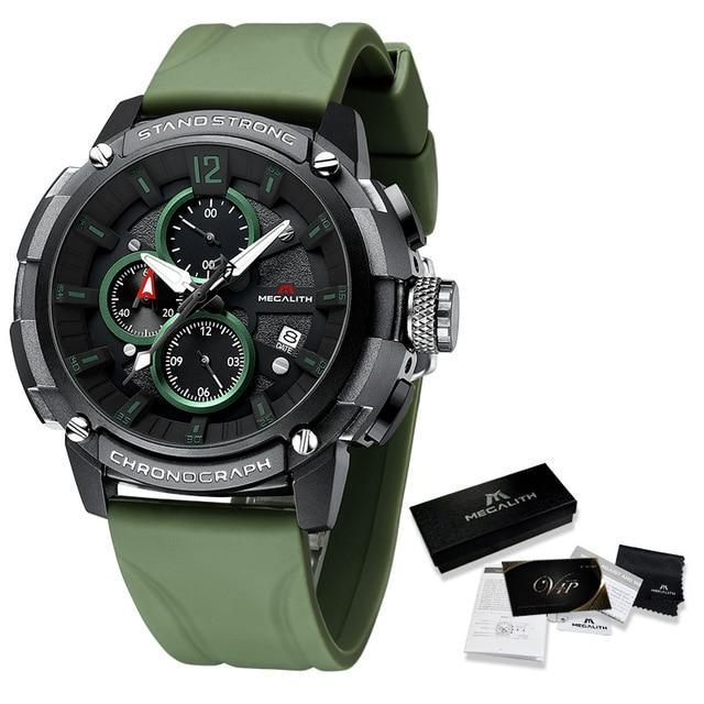 Salvi Raffinato Watch Company green