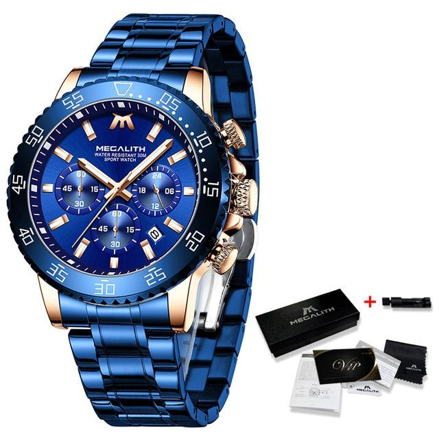 Vettorio Raffinato Watch Company blue