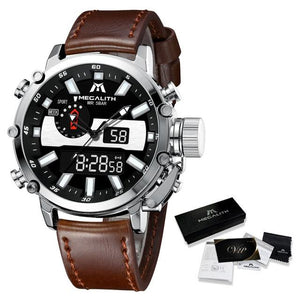 Vico Raffinato Watch Company leather silver