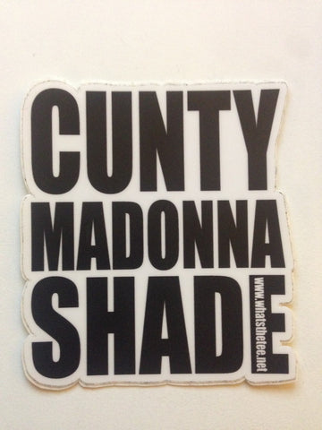 Cunty Madonna Shade Sticker