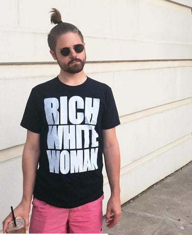 Rich White Woman Tshirt