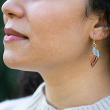 Load image into Gallery viewer, woman modeling The Dew at Dawn Earrings
