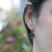 Load image into Gallery viewer, detail of woman's ear wearing The Freedom to Flourish Earring