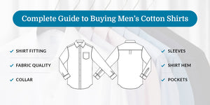Complete Guide to Buying Men's Cotton Shirts - Donzell