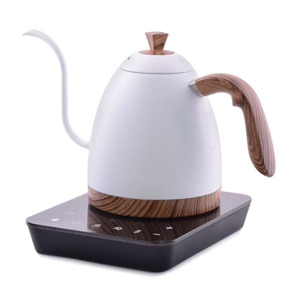 Brewista Artisan Kettle, matt schwarz / weiss, 0,9 Liter - carabica - fine coffee culture