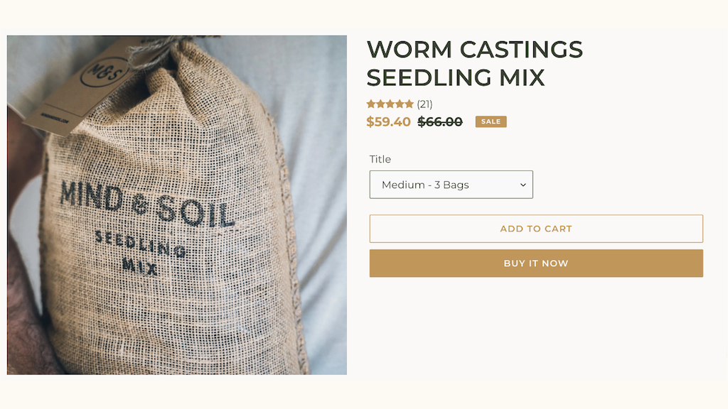 Buy Worm Castings now in Canada