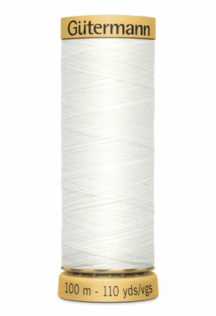 Gutermann Thread 100 m. 1006 White