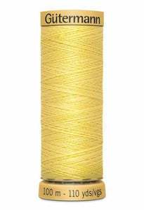 Gutermann Thread 100 m. 1410 Light Yellow