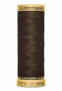 Gutermann Thread 100 m. 3080 Medium Dark Brown