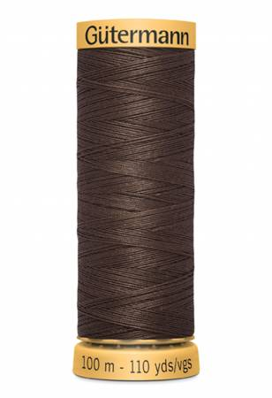 Gutermann Thread 100 m. 3110 Dark Brown