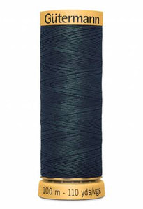Gutermann Thread 100 m. 8080 Green Black