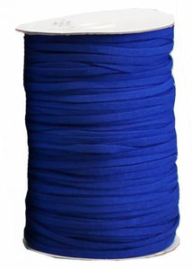 "5  m of  1/4""  (6 mm) Soft Stretch Navy Elastic"