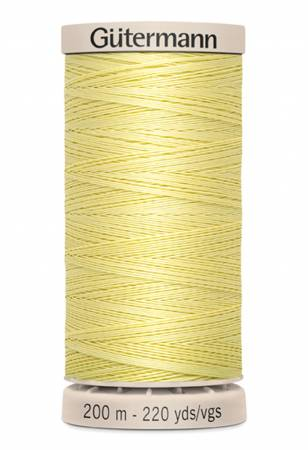 Gutermann Hand Quilting Thread 349 Yellow