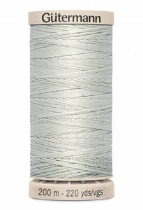 Gutermann Hand Quilting Thread 618 Tuskegee Grey