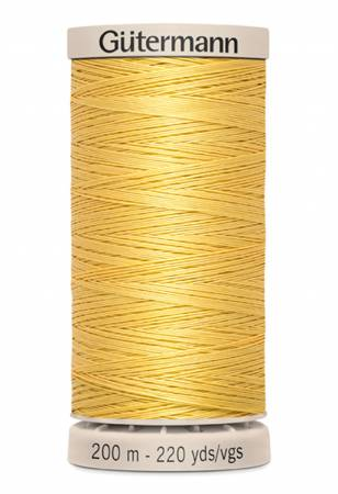 Gutermann Hand Quilting Thread 758 Dark Yellow