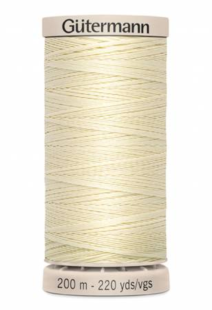 Gutermann Hand Quilting Thread 919 Light Pearl