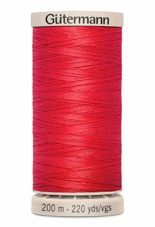 Gutermann Hand Quilting Thread 1974 Artillery Red